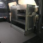 Mercedes Vito L2-H1 mit seitlichen Schubladen an der Schiebetür